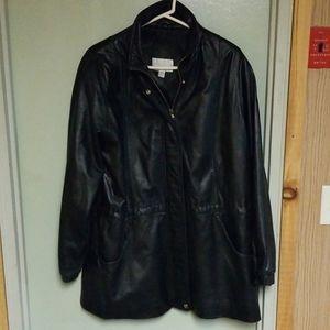 Worthington leather jacket womens